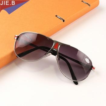 2ee5f065b6 2018 Multi-función de gafas de sol con dioptrías bifocales gafas de lectura  de moda de los hombres y las mujeres la presbicia gafas de lectura