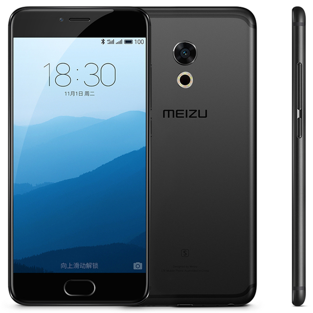 "Original Meizu Pro 6s 4G LTE Mobile Phone 4GB RAM 64GB ROM MTK Helio X25 Deca Core 5.2""1920x1080 Screen 3D Press Cell phone"