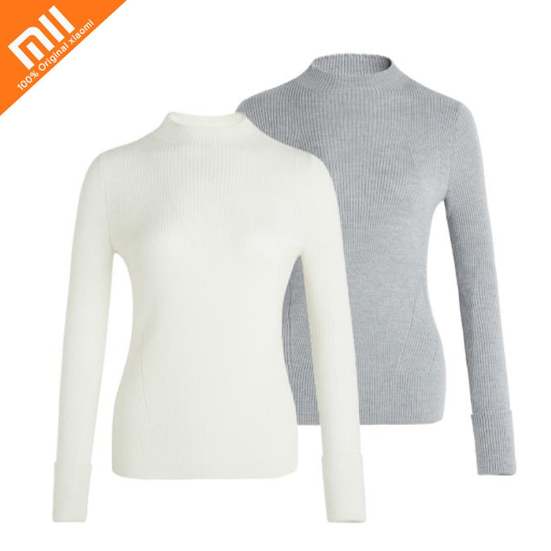 5 colors original xiaomi mijia Slim half-neck sweater sweater fashion wild female turtleneck sweater knitwear can be worn HOT