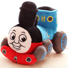 "1pcs/lot  10"" 25cm lovely Thomas small train Thomas cartoon plush doll a children's Day gift plush toys and gifts"