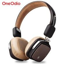 Oneodio หูฟังไร้สายบลูทูธชุดหูฟังสเตอริโอเบสหูฟังไร้สายพร้อมไมโครโฟนสำหรับ iPhone Xiaomi โทรศัพท์