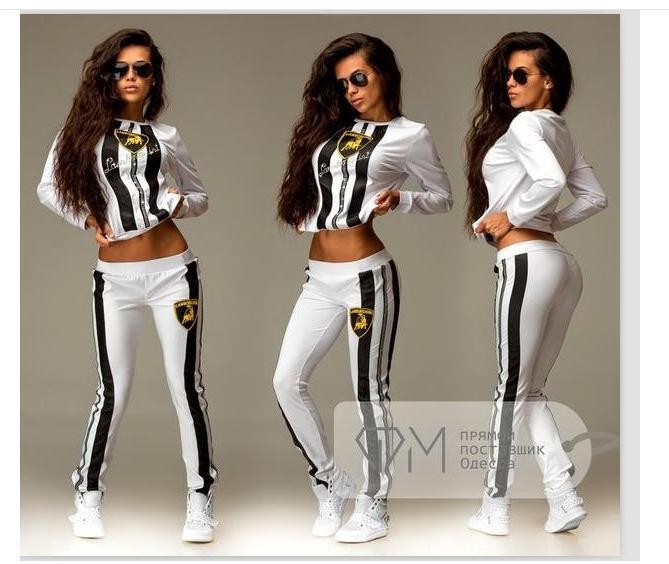 e3e062dc6073d Envío 2016 algodón chándal de mujer de marca imprimir Sport Suit sudaderas  Pant 2 unidades Jogging rayada traje de conjunto de ropa deportiva en  Sudaderas ...