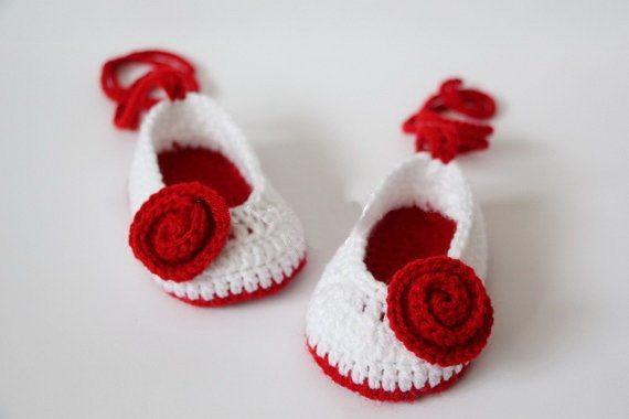 Tienda Online Envío libre, zapatos del ganchillo del bebé, del Bebé ...