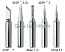 New 5X Soldering Iron Tips Set 900M-T Series for HAKKO 900M 907 933 852D+ 852D Soldering station cheap