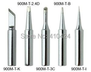 Image 1 - New 5X Soldering Iron Tips Set 900M T Series for HAKKO 900M,907,933,852D+,852D Soldering station