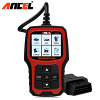 Original Ancel Car Diagnostic Tool OBD2 AD410 OBD 2 Code Reader SAS ABS Airbag Reset Engine