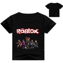 2018 verano juego Roblox Casual manga corta Camiseta niños ropa camiseta  adolescente Boy   Girls deportes Casual Tops camisetas . dd82b7241c717