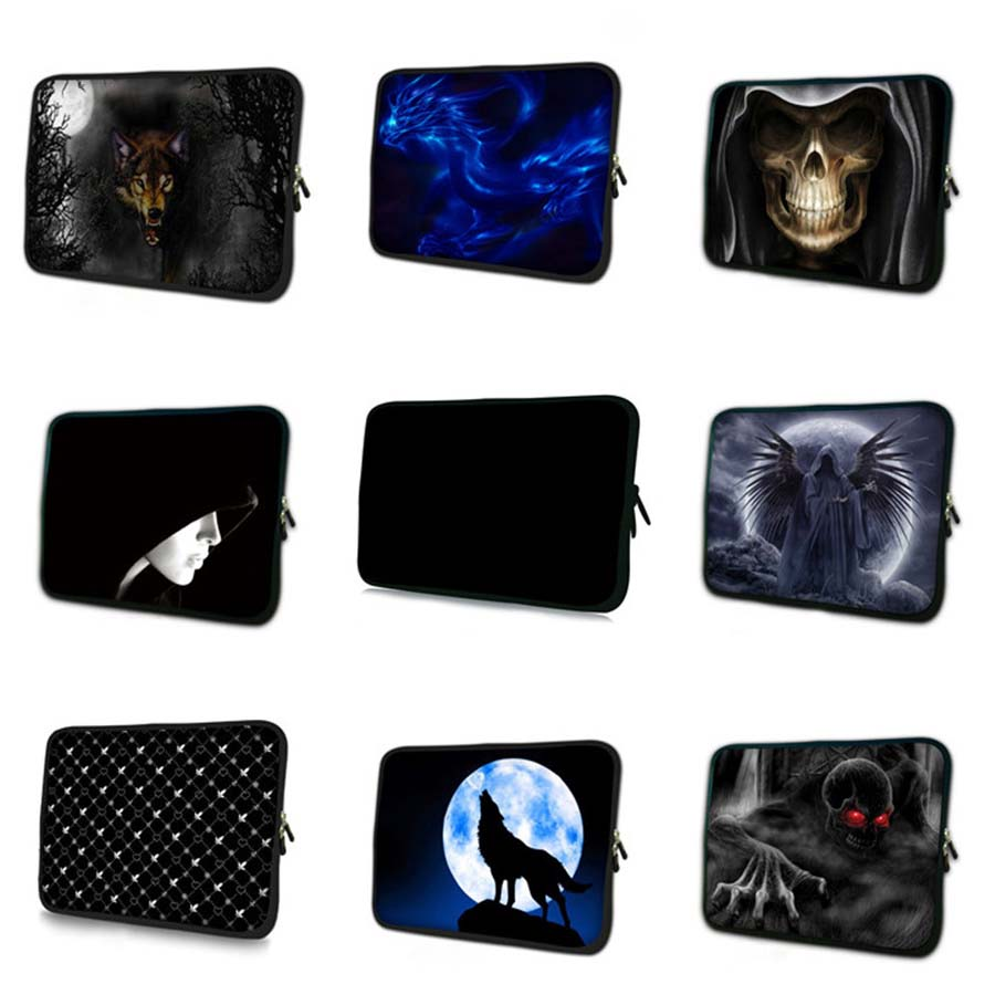 print flower laptop Bag 7 9 mini notebook sleeve Neoprene tablet case 7 tablet protective skin cover for tablet samsung TB 23886 in Tablets e Books Case from Computer Office