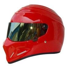 La venta caliente 2015 nuevo diseño Simpson StarWars cascos ATV-4 motocicleta helmet exportados a japón