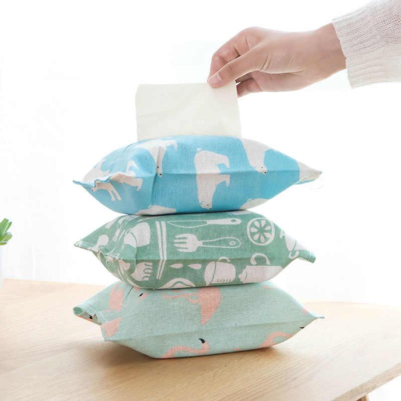 Baru Asli Kecil Indah Modern Tissue Kotak Sederhana Segar Amerika Nordic Memompa Tray Kreatif Kertas Tisu Rumah Tangga Cover