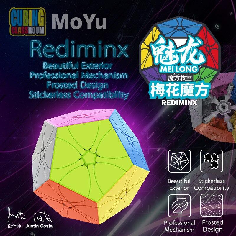 MoYu Meilong Rediminx Cube Cubingclassroom Magic Speed Cubes Mofangjiaoshi New Puzzle
