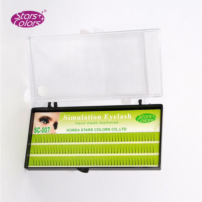 Træk rækker øjenvipper Makeup Eyelash 0.10mm C & D Curl Natural - Makeup - Foto 4