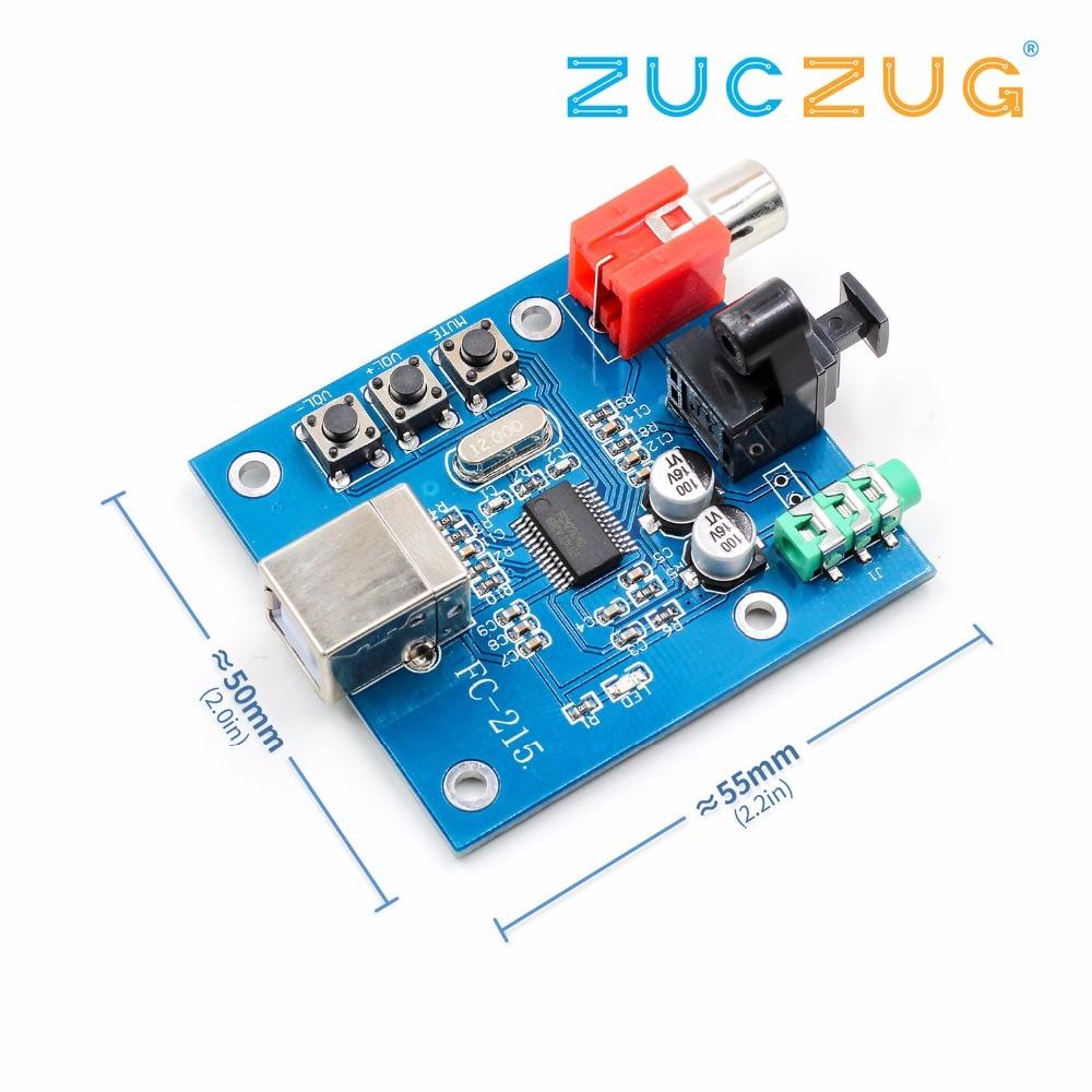 PCM2704 USB DAC USB Power Fiber Optic Coaxial Analog Output For Raspberry Pi RaspBMC Windows 7 Need No Drive Electronics