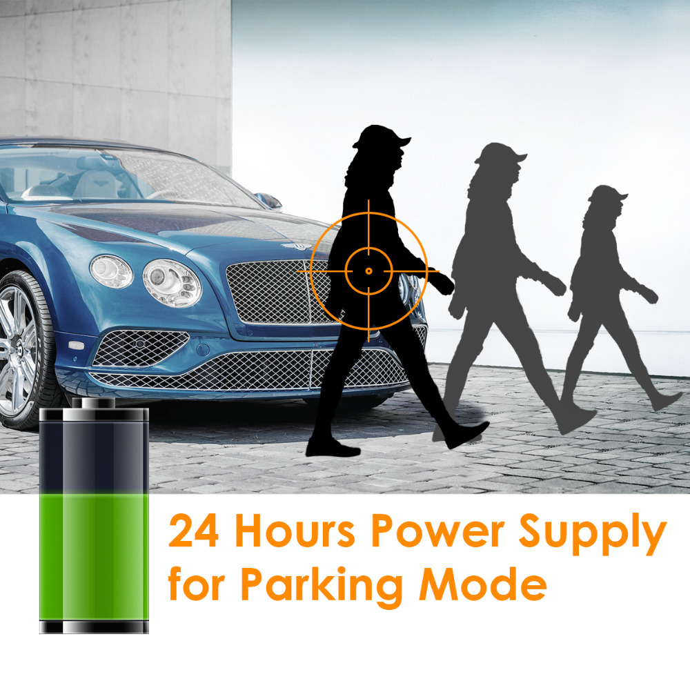 Vantrue 11.4V 40V 10ft OBD Charging Cable Mini USB Power Cable Kit with Low Voltage Protection for Vantrue N2 Pro// N2// X3// T2// N1 Pro// X1// X1 Pro// R3// N3 Dash Cams GPS Navigation Radar Detector