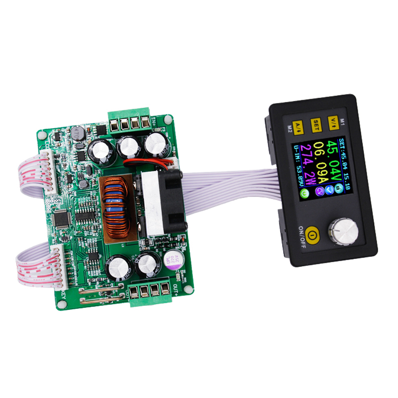 DPS3012 LCD display Constant Voltage current Step-down Programmable Power Supply module buck Voltage converter lm2596 solar wind energy automatic step down constant current constant voltage power supply module