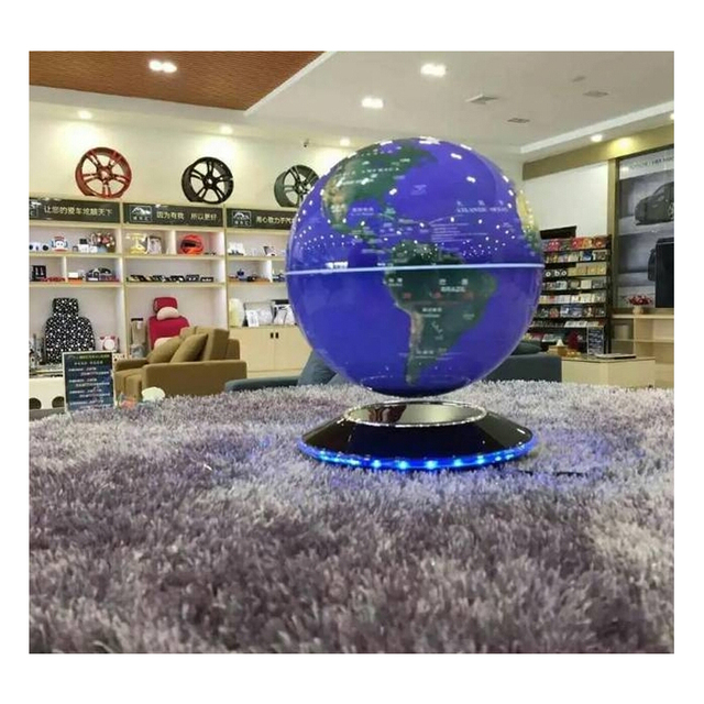 School Educational Supplies Magnetic Levitation Floating Globe Anti Gravity World Map Suspending In The Air Decoration Gadget