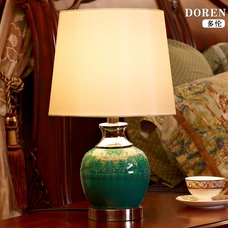 Modern Ceramic Vase Table Lamp: Aliexpress.com : Buy TUDA 28X46.5cm Free Shipping Chinese