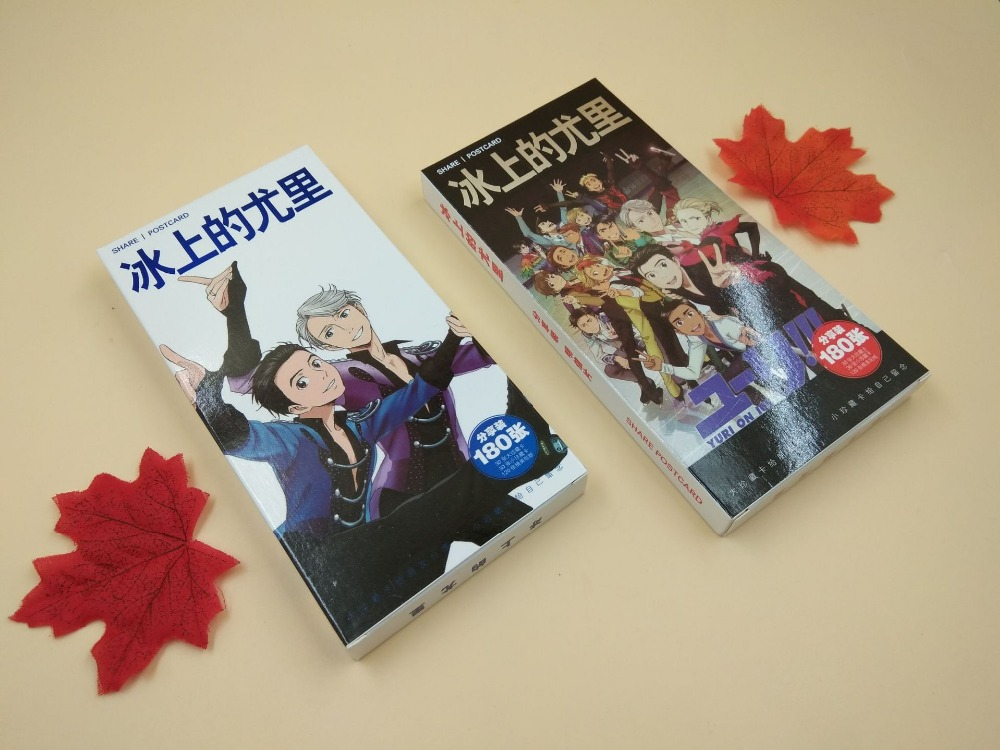 Anime YURI! No GELO Cartão postal Cartão