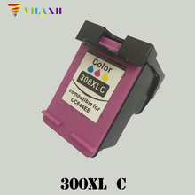For HP 300 Color Ink cartridge HP300 xl 300xl Deskjet F4583 F4500 F4580 F2420 F2480 F4210 F4272 Photosmart C4680 C4683 C4780