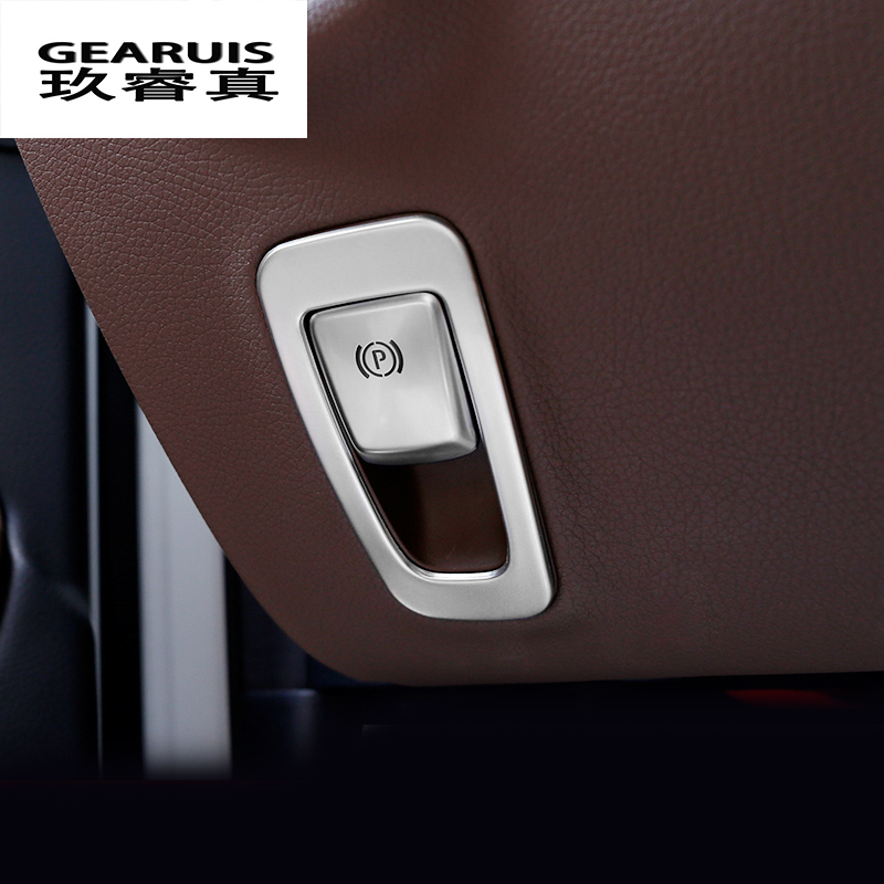 Car styling Used for automotive electronic hand brake decoration handbrake box Cover for Mercedes Benz E-Class W213 Accessories automotive hand tool of fuel tank lid installer remover suitable for mercedes benz