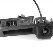 Автомобильная камера заднего вида Winnida CCD для Audi Q2 A5 Skoda KODIAQ, ручка багажника, камера заднего вида, ночное видение, угол поворота