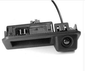 Автомобильная камера заднего вида Winnida CCD для Audi Q2 A5, Skoda KODIAQ 2017, камера с ручкой багажника, парковочная Ночная камера visioin wdie angle
