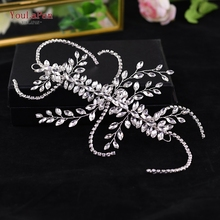 YouLaPan HP175 Bridal Tiara Wedding Hair Vine For the bride Accessories Headband Jewelry