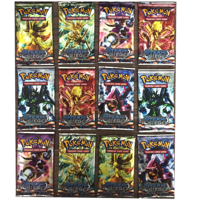 ФОТО 100pcs/lot english anime poke go mon ex cards toys for children gift poke go mons figures printed versions card