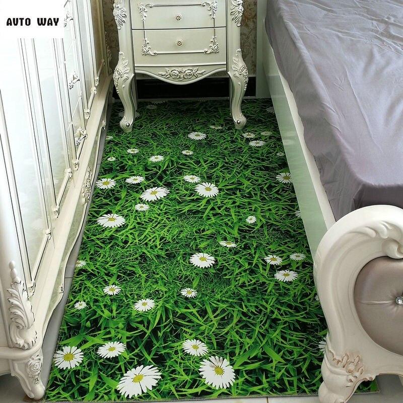 3D печать нескользящий ковер на заказ прямоугольный зал гостиной творческий коврик коврик коврик бытовой коврики