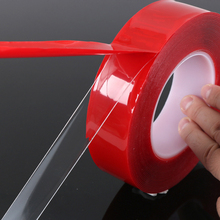 5MM-30MM Double Sided Super Sticky Tape 3m Heavy Duty Waterfroof Adhesive Tape Repair Accessories 150mm 55m 0 06mm thick 3m 467mp 200mp adhesive double sided sticky bonding tape high temperature withstand