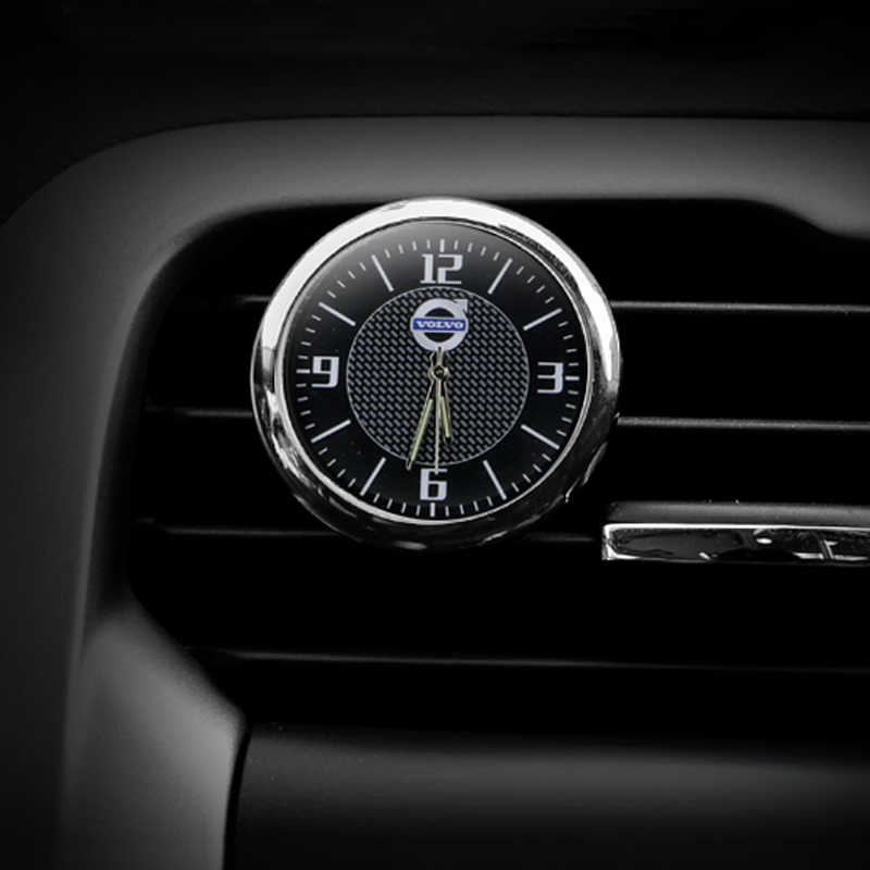 Detail Feedback Questions about Free shipping car clock styling car