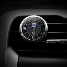 Free shipping car clock styling car decorations clock electronic time clock accessories for Volvo XC60 S60L S90 V40 V60 XC90