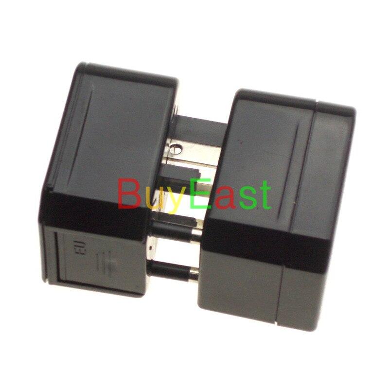 2 X World Global All In One Travle Adapter US/EU/GB/AU/China/Japan Universal Power Plug Half cover  Black