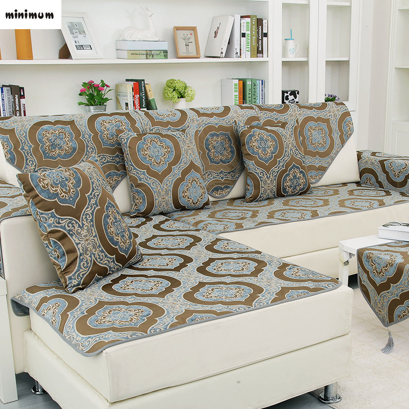 Astonishing Us 13 5 25 Off Double Sided Available European Style Sofa Cushion Leather Sofa Cover Towel Universal Modern Non Slip Sofa Cover Be Customized In Andrewgaddart Wooden Chair Designs For Living Room Andrewgaddartcom