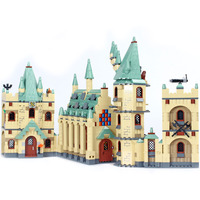 Lepin 16030 Harry Movies Hogwarts Castle potter Building Block Bricks Have Stock In US ES And Poland Walkie Talkie