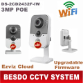 International English version with upgradable firmware DS-2CD2432F-IW support Ezviz cloud 3MP 1080P wifi wireless IP cube camera