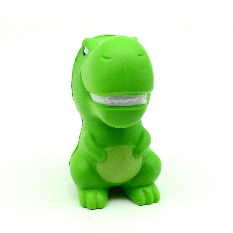 Kawaii Jumbo Green Cartoon Dinosaur Squishy Slow Rising Squeeze Toys PU Simulation Stress img3