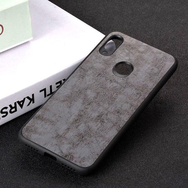 กรณีสำหรับ Xiaomi Redmi หมายเหตุหมายเหตุ 5 6 6A 7 Pro S2 funda Luxury VINTAGE หนังโทรศัพท์กรณี TPU + PC capa coque