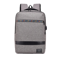 цена на HOT New Designed Brand Cool Urban Casual Backpack Men Business 15.6 inch USB Charging  Laptop Backpack Computer Backpacks