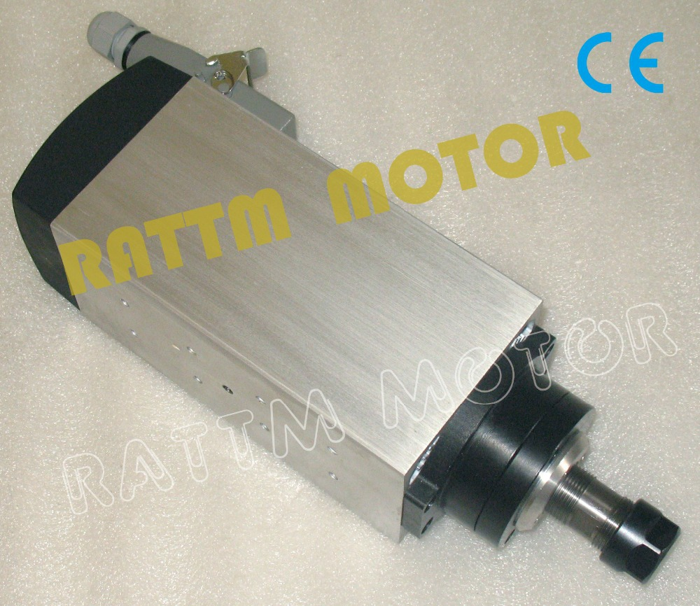 4KW AIR-COOLED CNC SPINDLE MOTOR ENGRAVING MILLING...