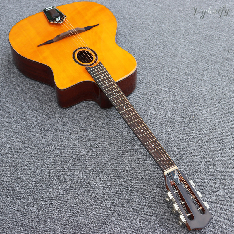 Jango guitare acoustique Jazz guitare gitane haut bois massif