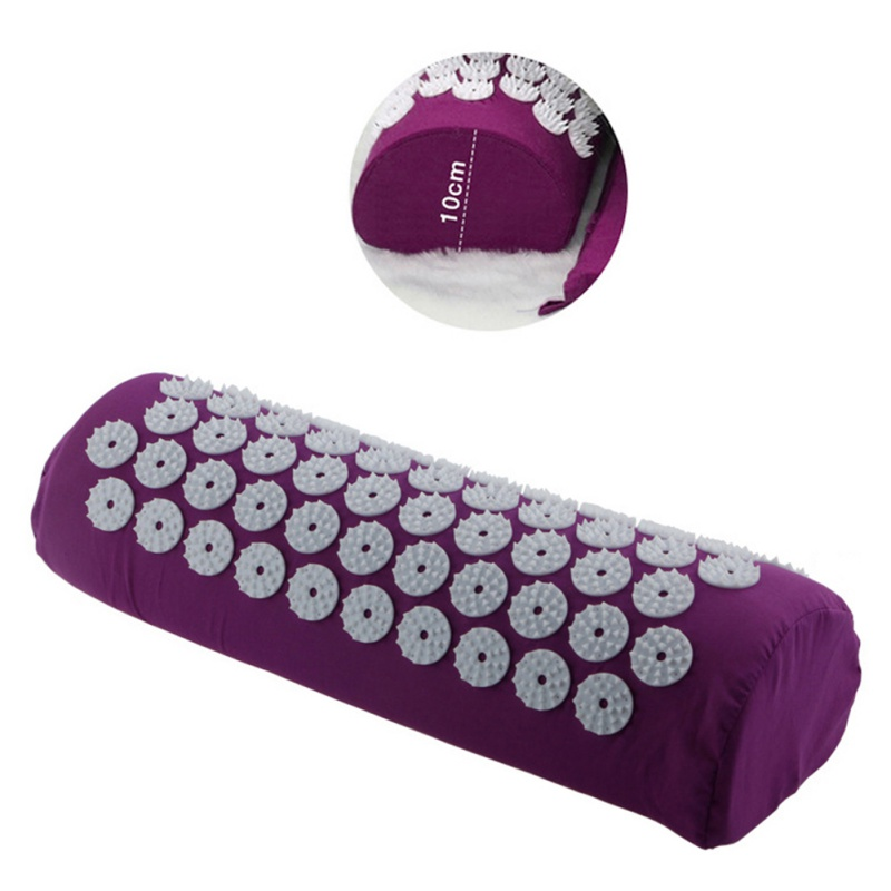 Acupuncture Massager Pillow Relieve Body Pain Stress Acupressure Cushion Body Massage Cotton Pillow Yoga Brick