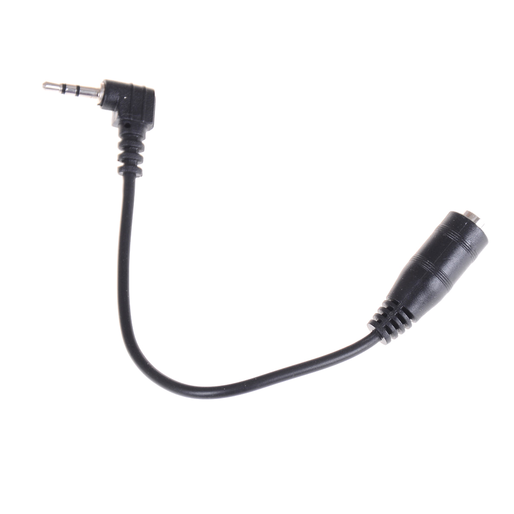 2.5mm Male To 3.5mm Female Audio Stereo Headphone Earphone Converter Adapter