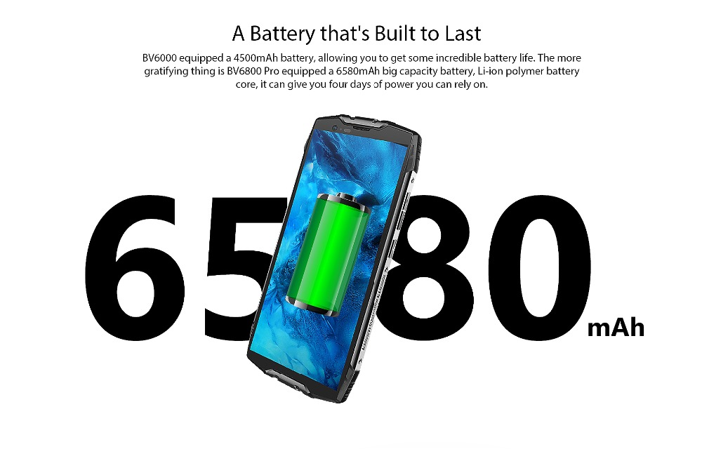 """HTB1Kkh9di6guuRjy0Fmq6y0DXXaQ Blackview BV6800 Pro Android 8.0 Outdoor Mobile Phone 5.7"""" MT6750T Octa Core 4GB+64GB 6580mAh Waterproof NFC Rugged Smartphone"""