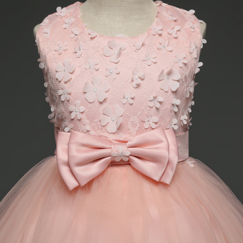 2018 Flower Girl Dresses Floral Princess Dress Girl Clothes For Wedding  Girl Christmas Party Dress Kids Clothes Children s Dress-in Dresses from  Mother ... f7173bf4d102