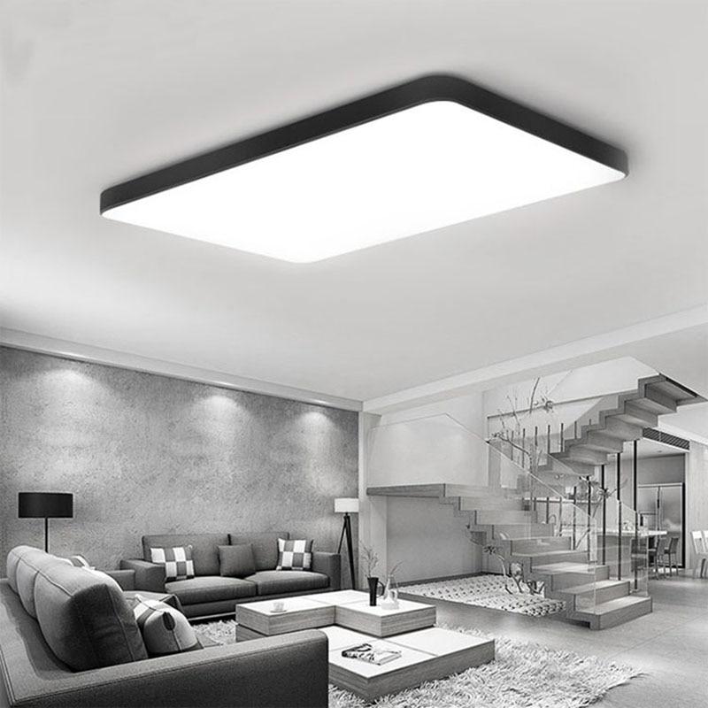 Modern Slim Square Led Ceiling Lamp Light Dimmable Ceiling