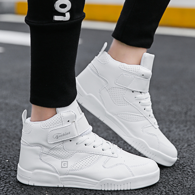 Basketball Shoes Men High Top Off White Shoes Sneakers For Men Flat Sport Shoes Man Chaussure Homme Zapatillas Hombre Deportiva