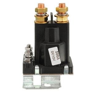 4 Pin 12V Amp 500A Tiếp Sức Phụ Kiện Ô Tô Khởi Động Vào Ngày/Tắt Công Tắc Nguồn Pin Đôi Cách Ly Chất Lượng Cao