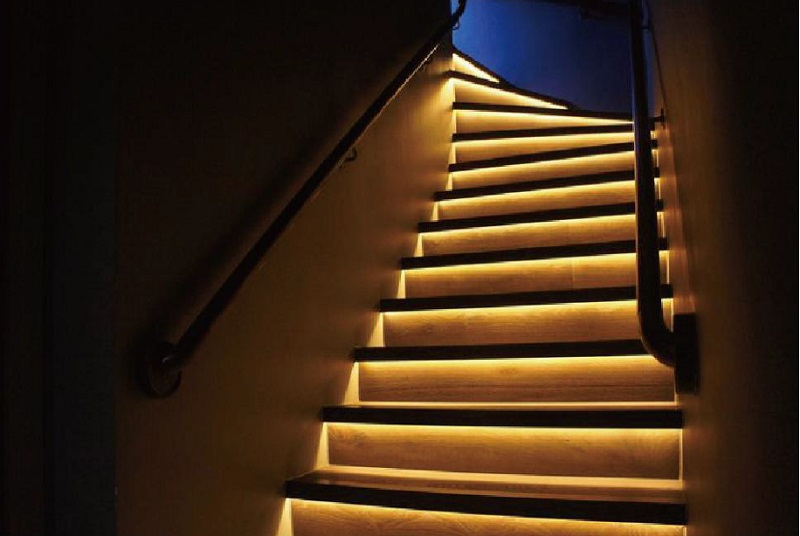 High Quality Aluminum Led Channels Recessed Stair Lights In LED Lamp Stair  Lighting Fixtures Indoor Used Customized Length Ok  In Lamp Covers U0026 Shades  From ...