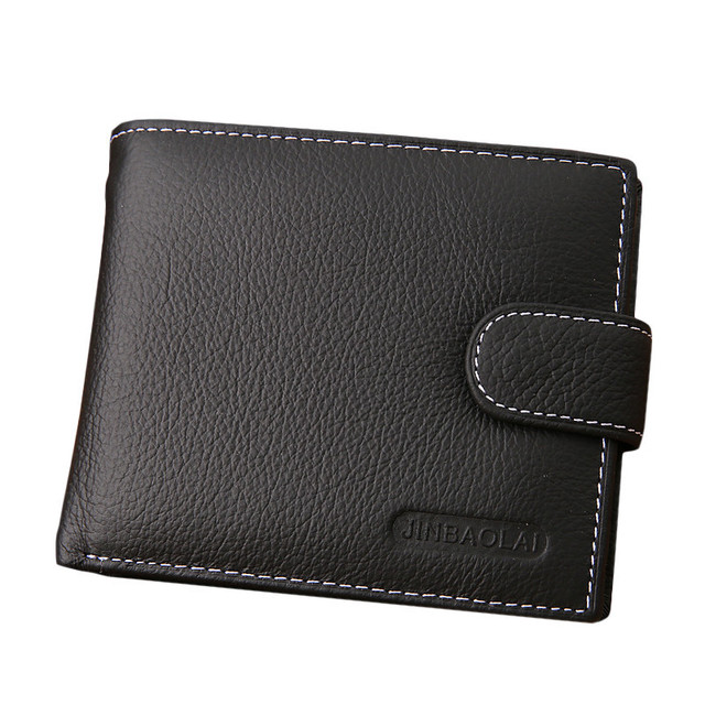 Square Leather Wallet